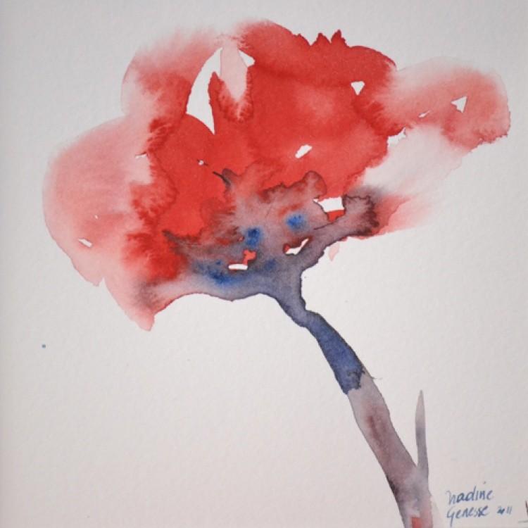 Nadine Genesse - Coquelicot soliflore 1