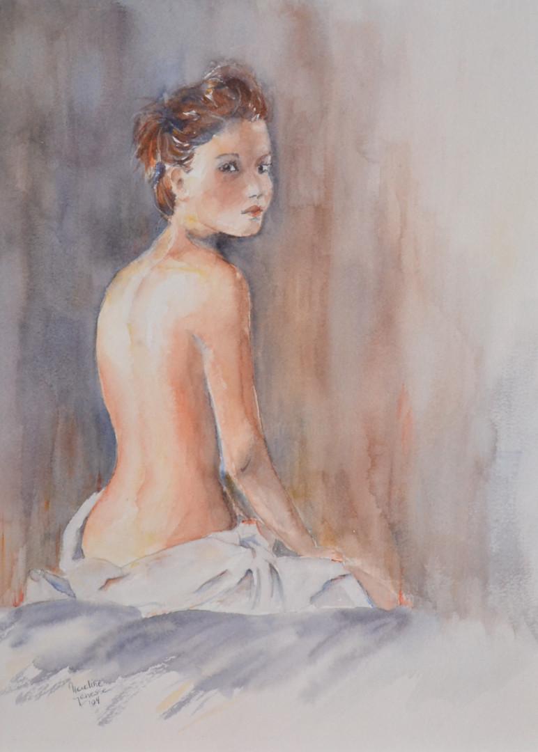 Nadine Genesse - Elle.